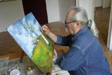 Kun Rezső festő-grafikus