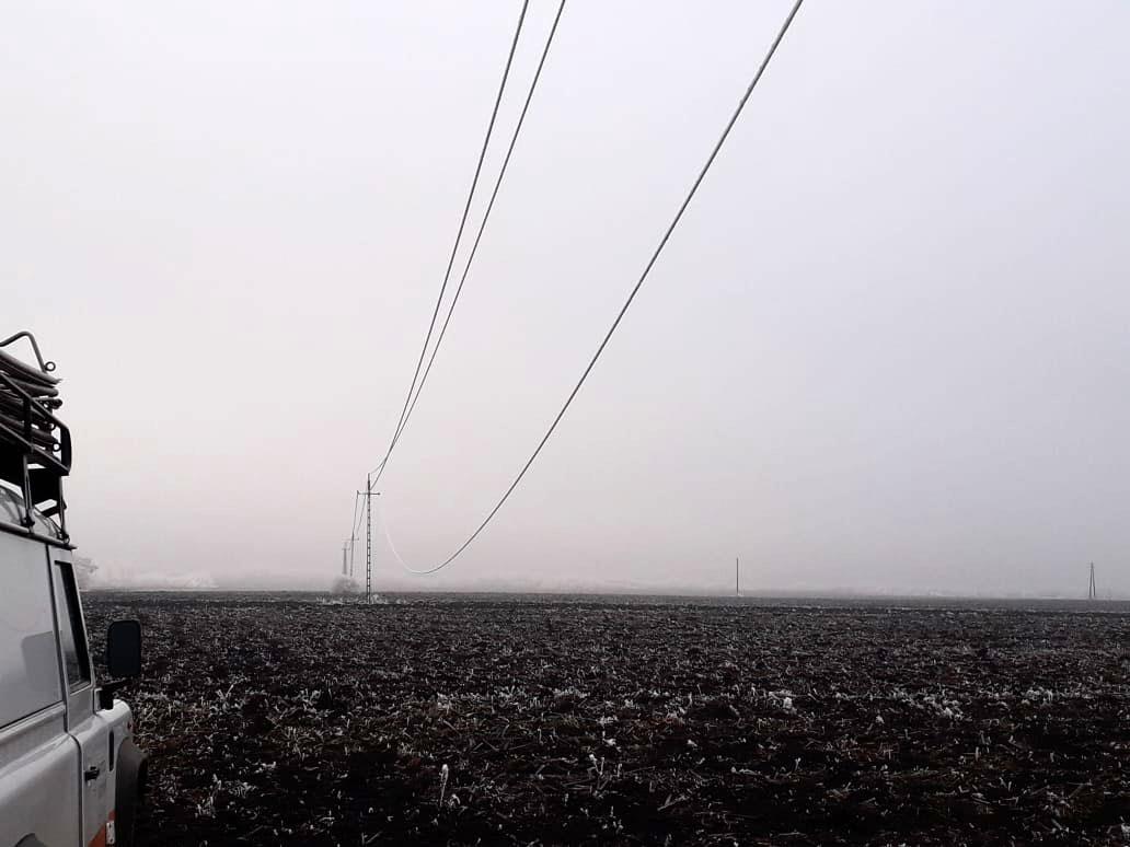 Szegváron is okoz áramszünetet a téli időjárás