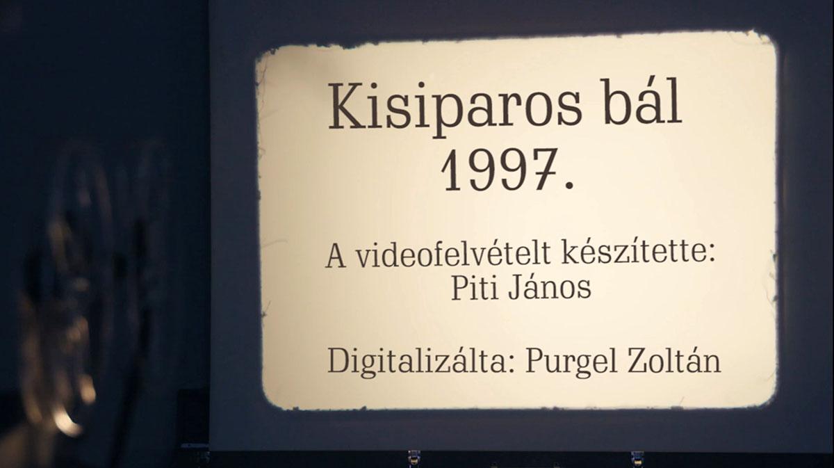 Kisiparos bál 1997.