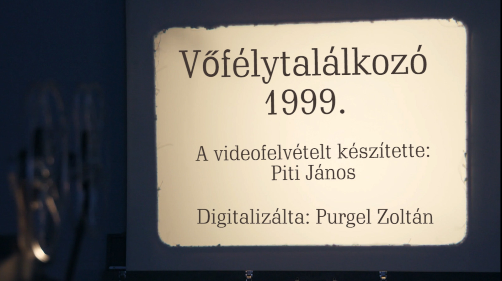 Vőfélytalálkozó 1999.