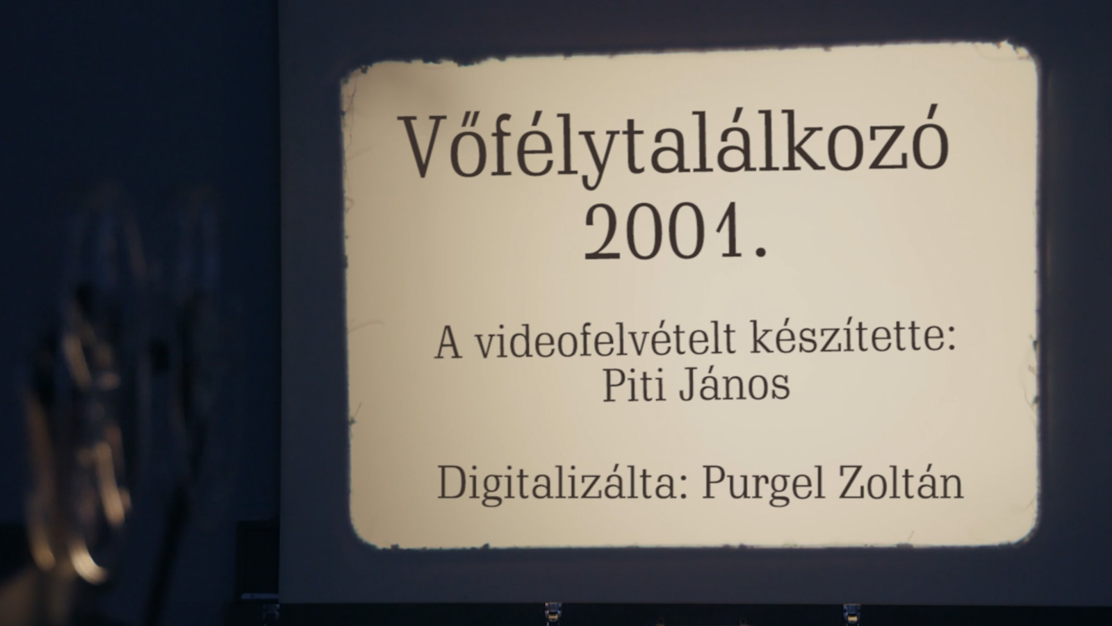 Vőfélytalálkozó 2001.