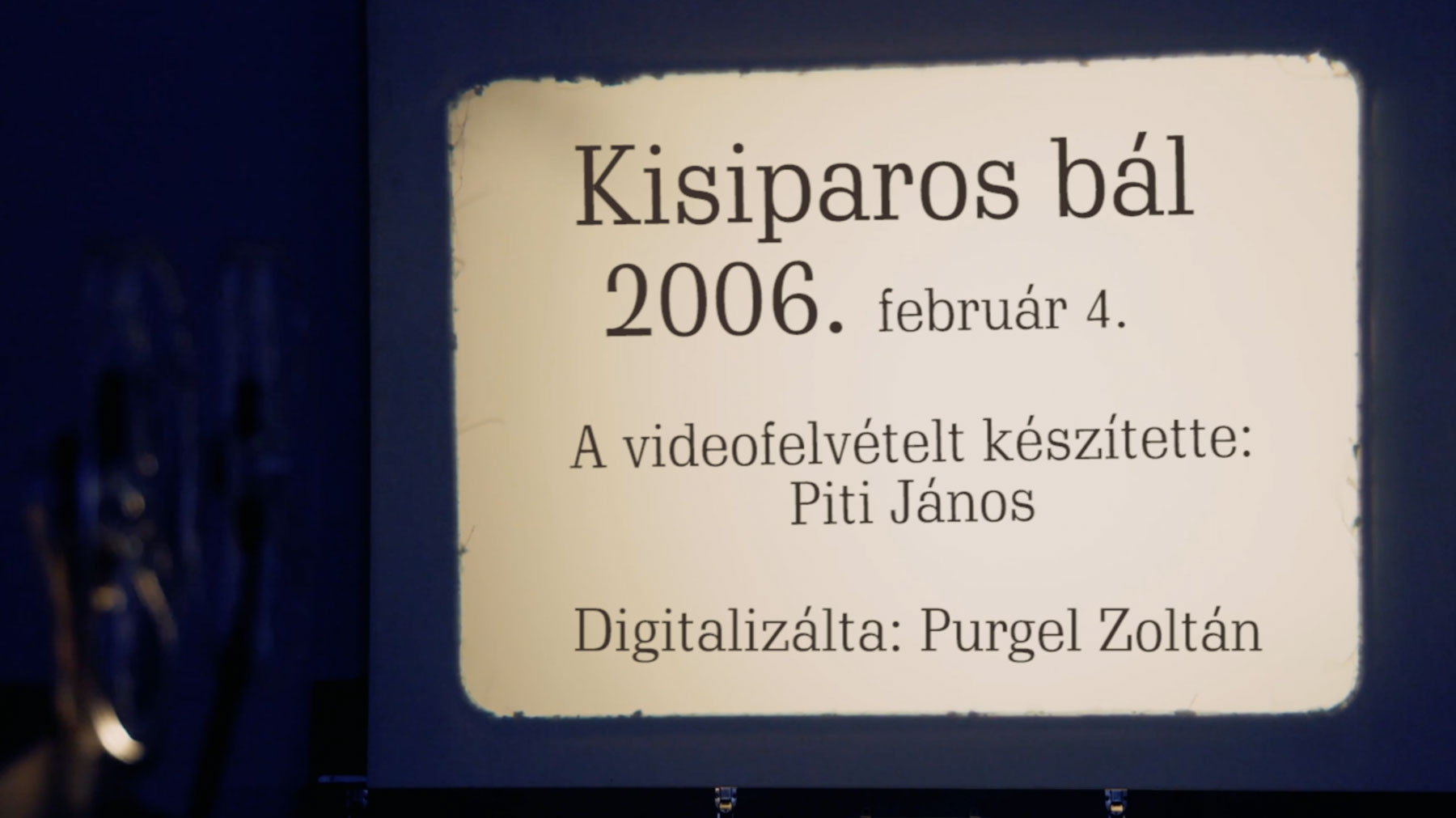 Kisiparos bál – 2006.
