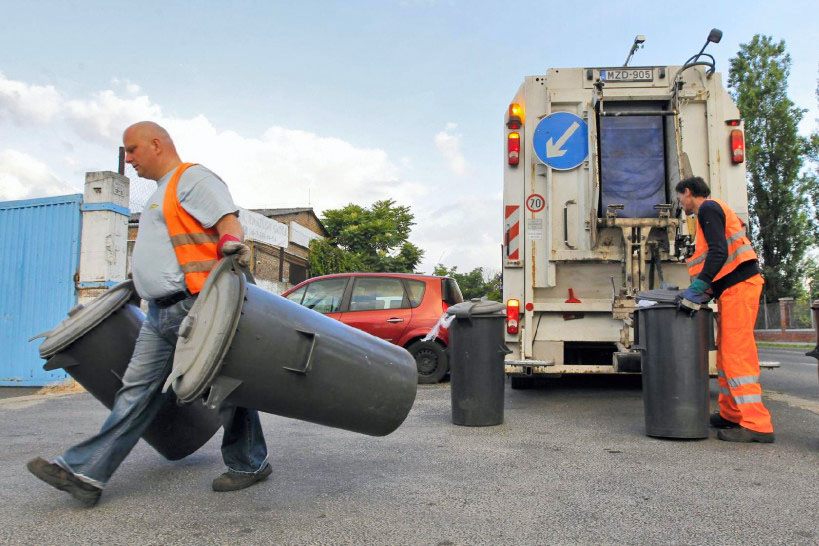 Idei hulladékgyűjtési rend