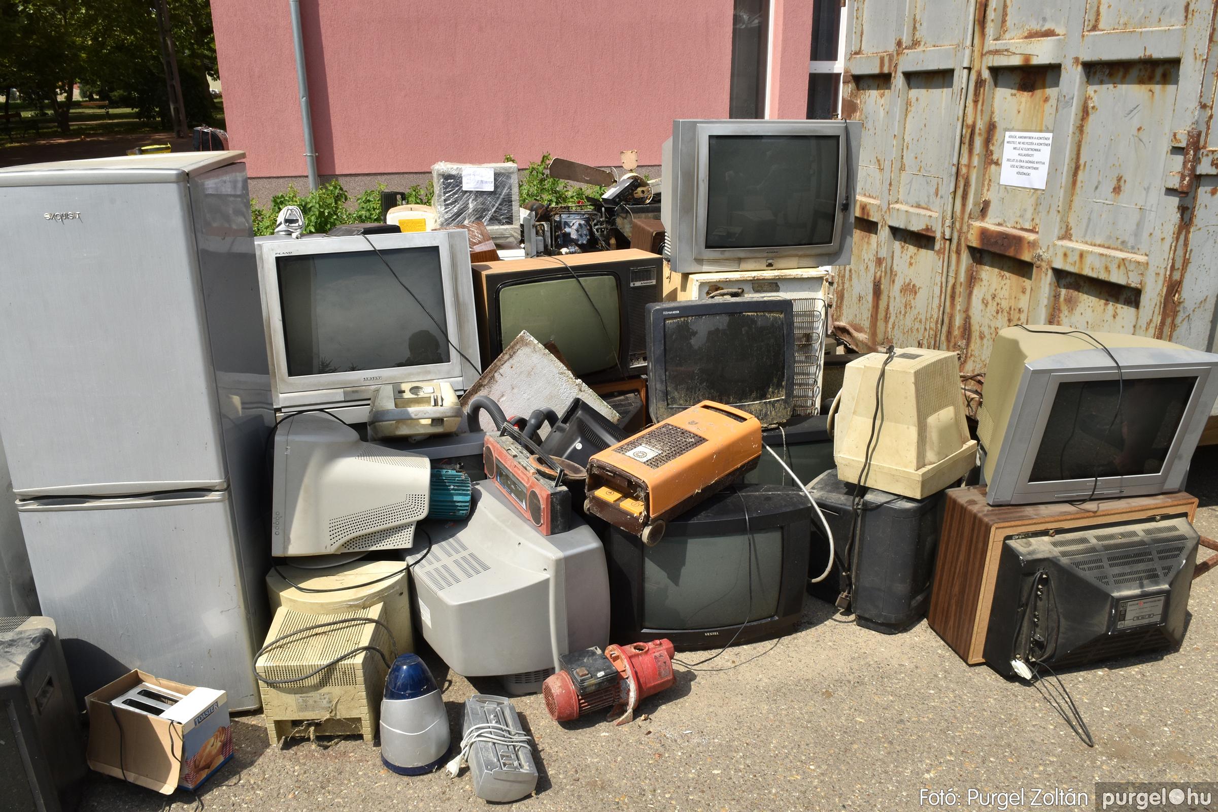 2021.08.01. 006 Elektronikai hulladékgyűjtés – Fotó:PURGEL ZOLTÁN© DSC_8568q